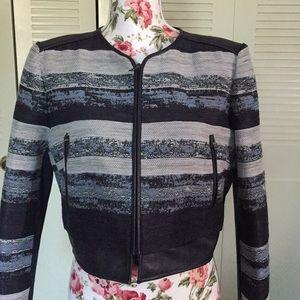 BCBG  Kevin Color Blocked Jacket